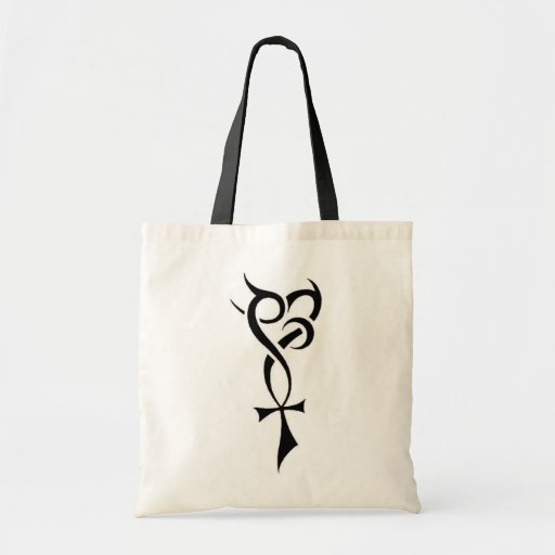 Diseño del símbolo de la lealtad del amor de la vi bolsa