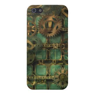 diseño del steampunk iPhone 5 carcasa