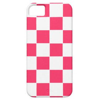 Diseño del tablero de ajedrez funda para iPhone SE/5/5s