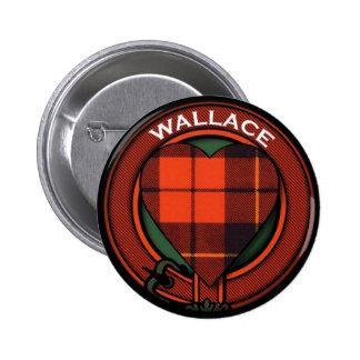 Diseño del tartán del corazón de Wallace Pin