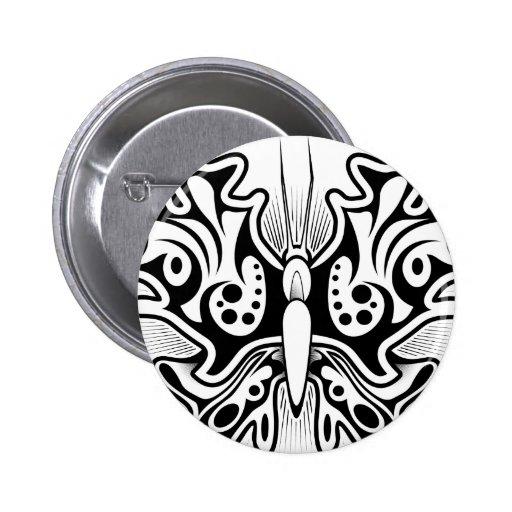 Diseño del tatuaje de la mariposa pins