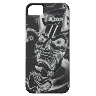 Diseño del tatuaje de la máscara de Hannya iPhone 5 Case-Mate Carcasas