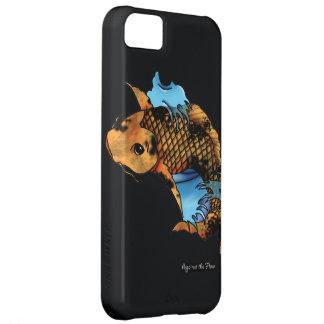 Diseño del tatuaje de los pescados de Koi Carcasa iPhone 5C