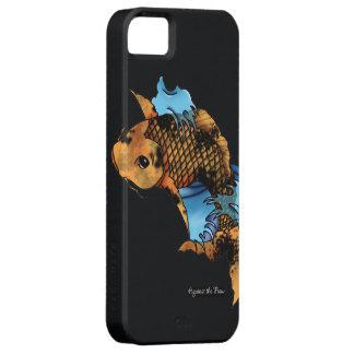 Diseño del tatuaje de los pescados de Koi Funda Para iPhone SE/5/5s