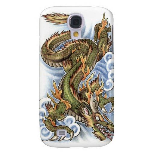 diseño del tatuaje del dragón