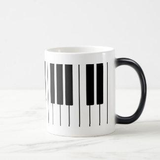 Diseño del teclado taza