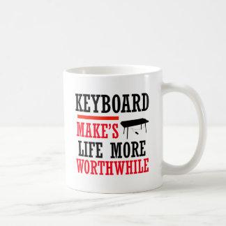 diseño del teclado taza clásica