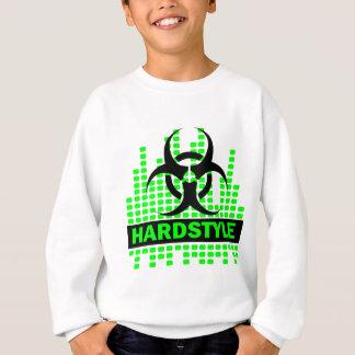 Diseño del tempo de Hardstyle Sudadera