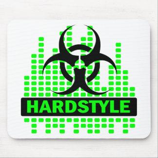 Diseño del tempo de Hardstyle Alfombrilla De Ratón