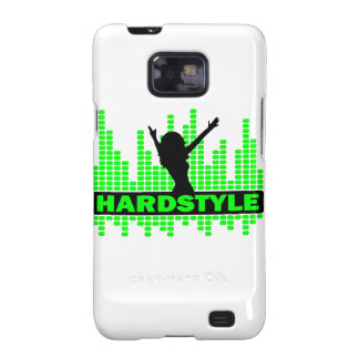 Diseño del tempo del bailarín de Hardstyle Samsung Galaxy SII Carcasa