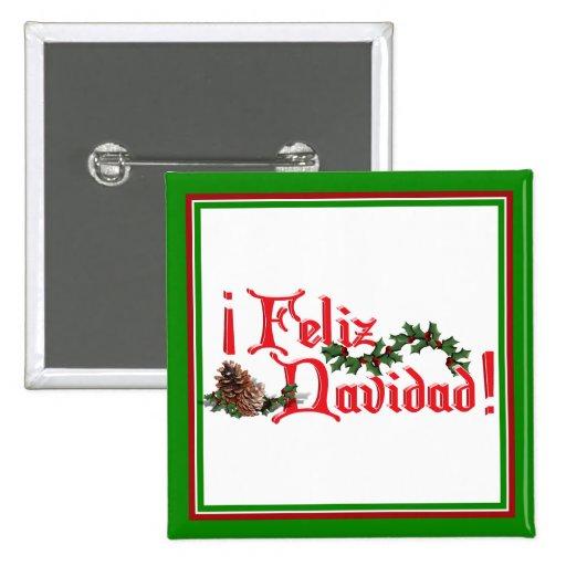 Diseño del texto de Feliz Navidad con los conos de