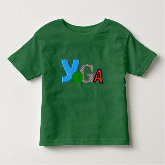 Diseño del texto de la diversión - ropa de la yoga playera