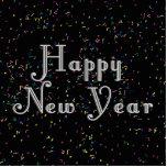 Diseño del texto de la Feliz Año Nuevo Esculturas Fotográficas