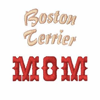 Diseño del texto de la mamá de Boston Terrier
