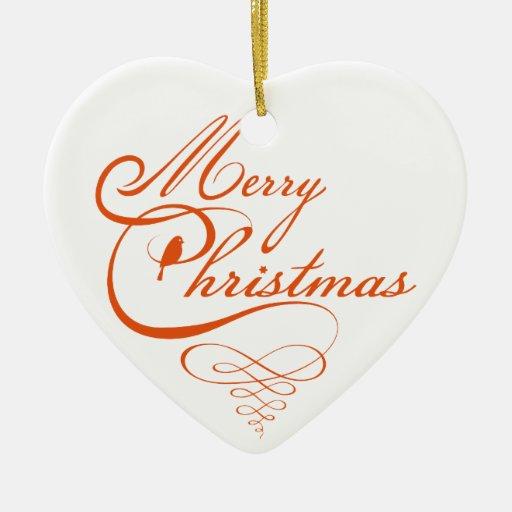 Diseño del texto de las Felices Navidad, arte de l Adorno