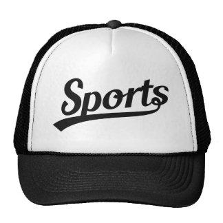 Diseño del texto: Negro de los DEPORTES + su Gorras