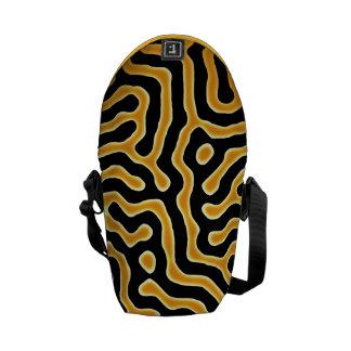 """Diseño del """"tigre líquido"""" bolsas de mensajería"""