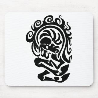 Diseño del torso del caballo mousepad