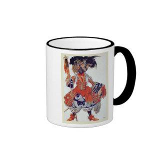 Diseño del traje para el guardia de la reina, de S Taza De Café