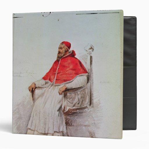 Diseño del traje para el papa Clemente VII