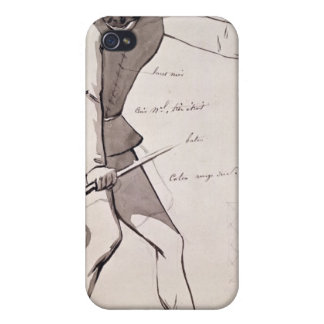 Diseño del traje para un acróbata iPhone 4 carcasa