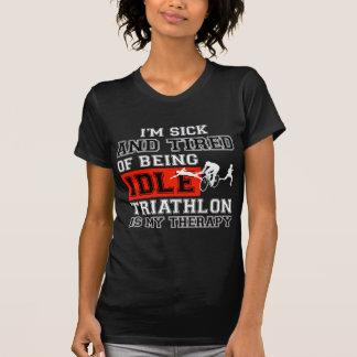 diseño del triathlon playeras