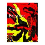 Diseño del triturador de Shell Postal