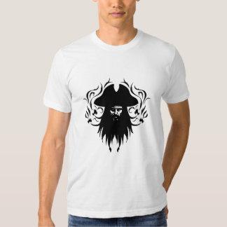 Diseño del vector de Blackbeard Camisas