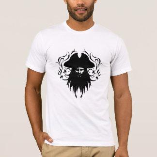 Diseño del vector de Blackbeard Playera