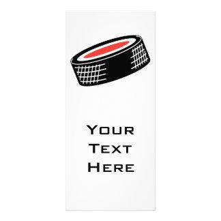diseño del vector del duende malicioso de hockey lona personalizada