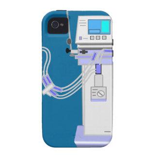Diseño del ventilador del terapeuta respiratorio Case-Mate iPhone 4 funda