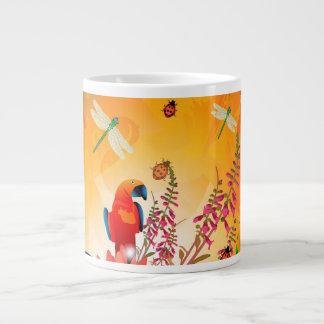 Diseño del verano taza grande