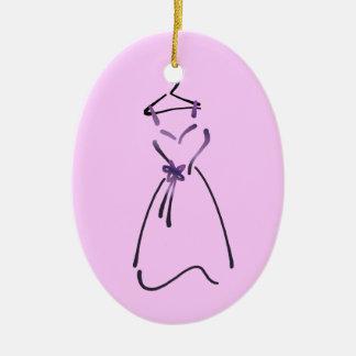 Diseño del vestido elegante con lema adaptable adorno