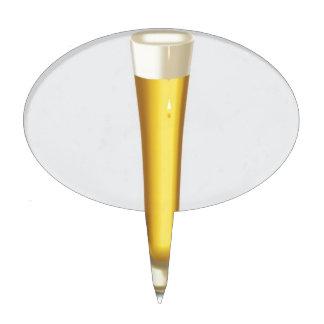 Diseño del vidrio de cerveza palillos de tarta