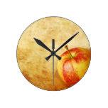 Diseño del vintage de Apple Relojes De Pared