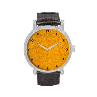 Diseño del vintage relojes de mano