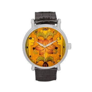 Diseño del vintage reloj