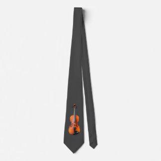 Diseño del violín corbatas personalizadas