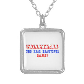 diseño del voleibol pendientes personalizados