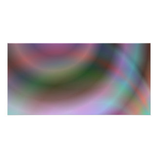 Diseño del vórtice del color tarjeta fotográfica