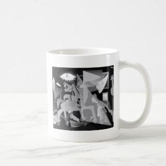 Diseño dentado del borde taza de café