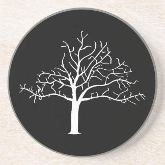 Diseño desnudo del árbol posavasos manualidades
