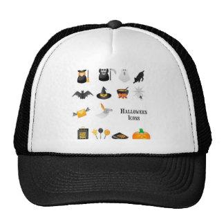 Diseño determinado del icono de Halloween Gorra