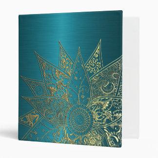 """Diseño dibujado mano linda de la alheña de la flor carpeta 1"""""""