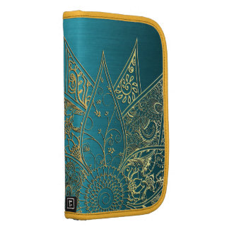 Diseño dibujado mano linda de la alheña de la flor organizadores