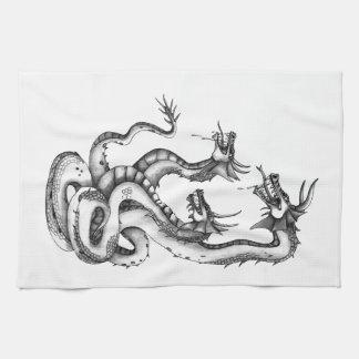 Diseño dirigido tres del Hydra Toalla