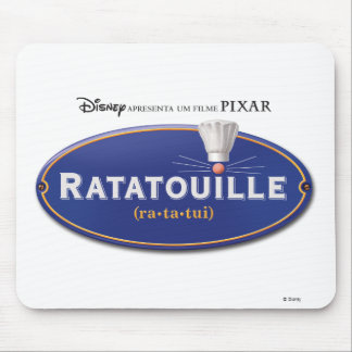Diseño Disney del logotipo de la película de Ratat Tapete De Raton