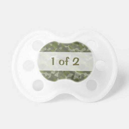 Diseño divertido 1 del texto del bebé de los múlti chupete de bebe