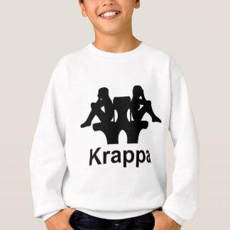 Diseño divertido de Krappa Sudadera