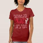 Diseño divertido de la cabra para las mujeres camiseta